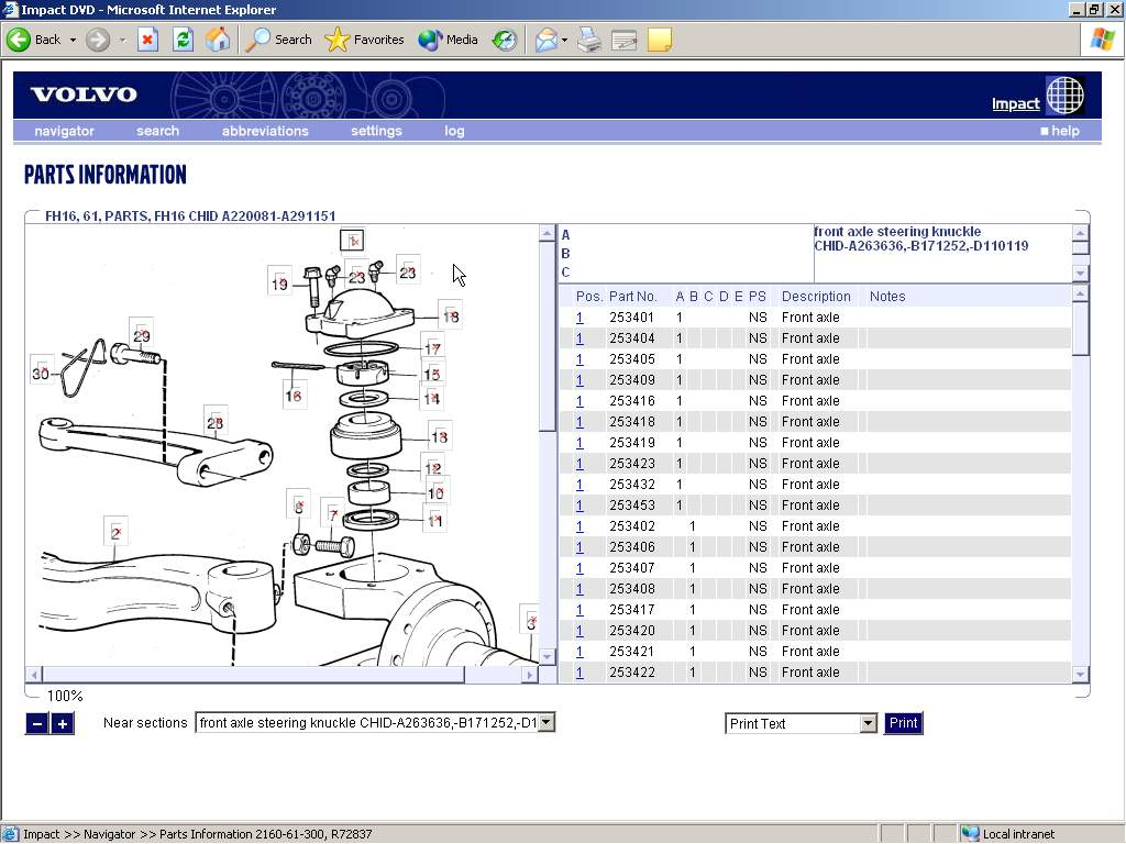 autoparts catalogs volvo trucks amp buses impact carrier split system wiring diagrams system wiring diagrams #13