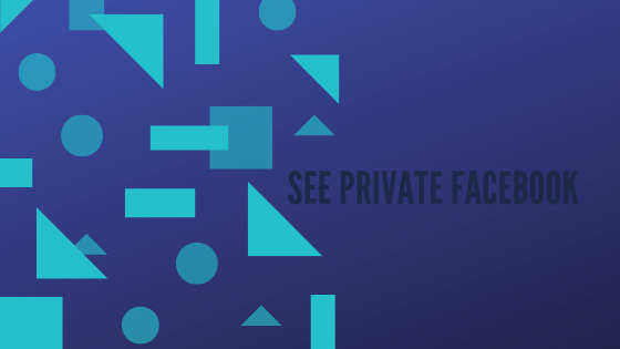 View Private Facebook Profiles without Download<br/>