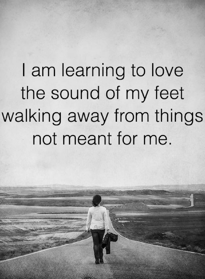 Walking Away Quotes,