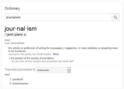 Pengertian & Perbedaan Jurnalistik dan Jurnalisme