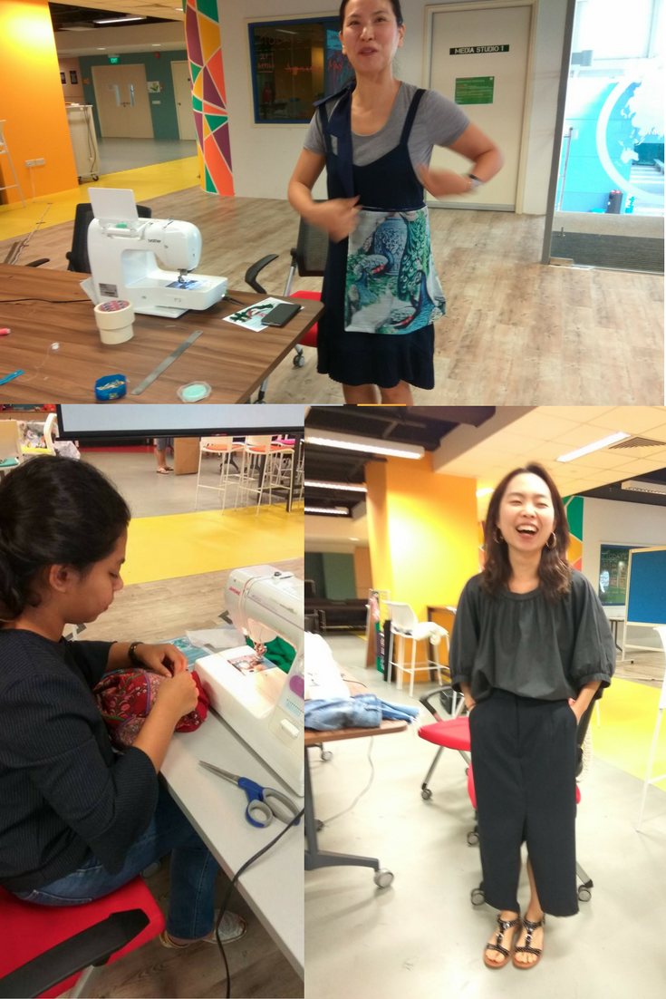 Upcycling Workshop by Agy, Singapore