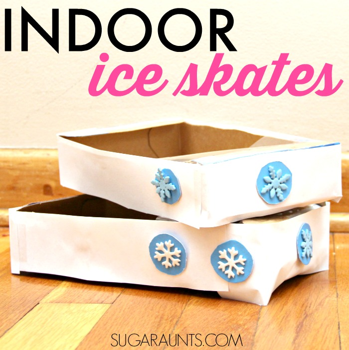 Indoor Ice Skate Vestibular activity for kids