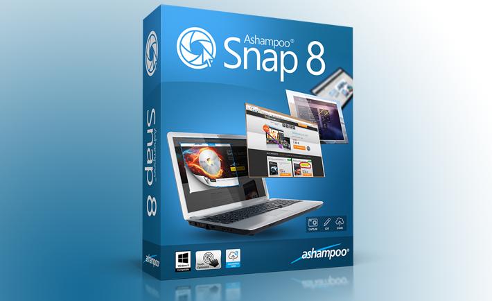 Ashampoo Snap 8, Ekran Görüntüsü Kaydetme