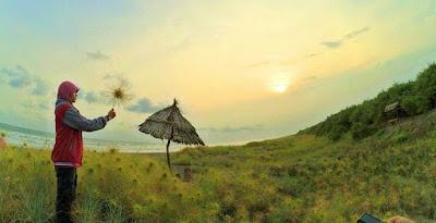 Lokasi Pantai cemara Sewu