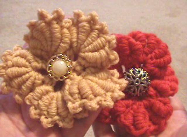 Flor Crochet Bullion