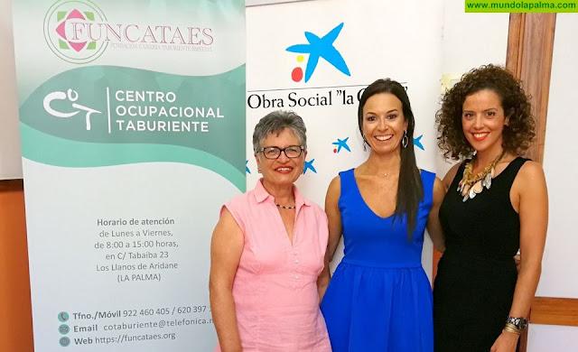 """La Obra Social """"La Caixa"""" y funcataes firman un convenio de colaboración para mejorar la calidad de vida de 35 personas con discapacidad intelectual"""