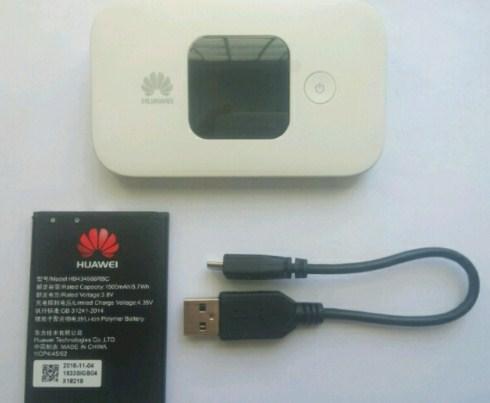 4G Lte merek Huawei mifi E5577