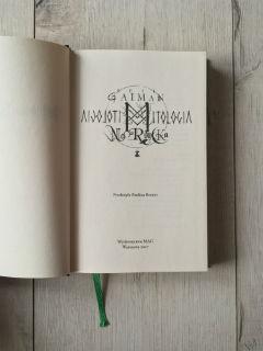 """fantastycznie wydanie, """"Mitologia nordycka"""" Neil Gaiman, fot. paratexterka ©"""
