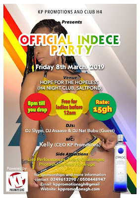 OFFICIAL INDECE PARTY - POWERED BY KP PROMOTIONS ( Upcoming Club Event Party)