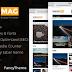 OmegaMag v1.1 Magazine/News Responsive Blogger Template