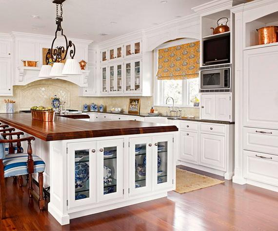 id es d cor de cuisine armoires blanches d cor de maison d coration chambre. Black Bedroom Furniture Sets. Home Design Ideas
