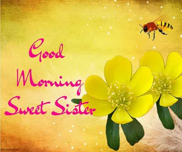 good morning sweet sister
