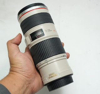 Jual Canon 70-200mm f4L  IS USM Bekas
