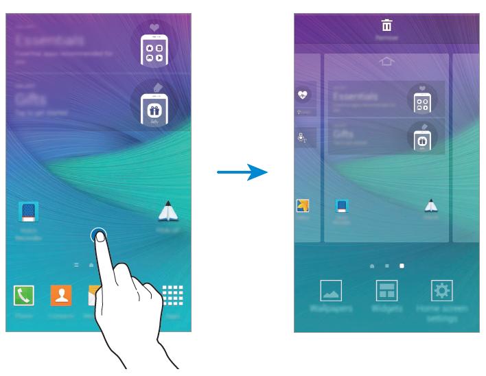 Come spostare o eliminare app/icone schermata principale da una pagina all'altra - come creare cartella con app e giochi Android
