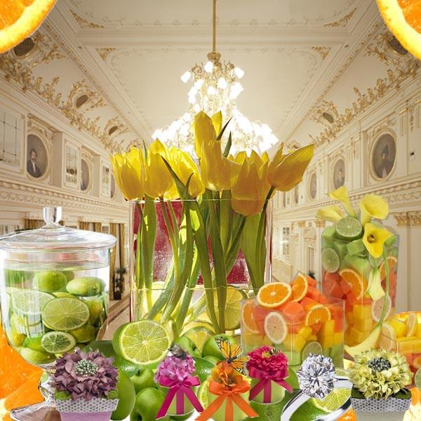 Wedding Centerpieces Ideas For Summer: Weddingzilla: Lemon Wedding Theme JUICY Summer Wedding Ideas