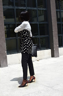 how to transform your regular white shirt by MoonWalker - a Nigerian Fashion and lifestyle blogger
