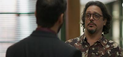 Diogo (Armando Babaioff) fará Mario (Lucio Mauro Filho) sofrer em suas mãos em Bom Sucesso