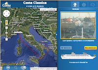 Costa Ship Tracking