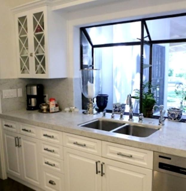 Large Kitchen Window: Ciao! Newport Beach: Kyle Richards' Bel Air House