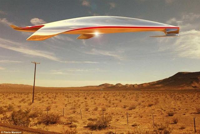 Nave espacial do futuro - Ferrari - Flavio Manzoni