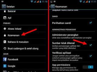 Cara Agar Android bisa Install file APK