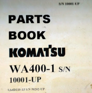 Komatsu Wheel Loader Part Book WA400-1
