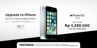iPhone 5s Harga Spesial Rp 4.299.000