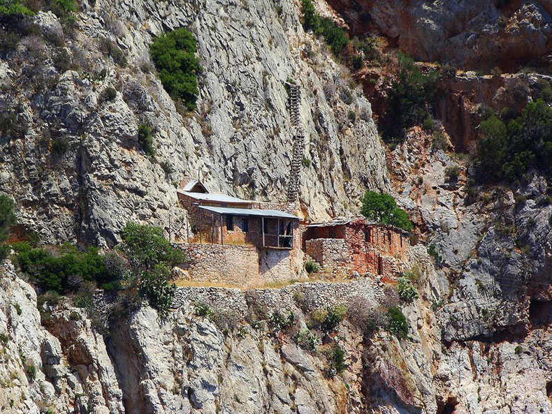Los ermitaños de Karoulia del Monte Athos | Grecia