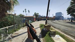 Grand Theft Auto V open world