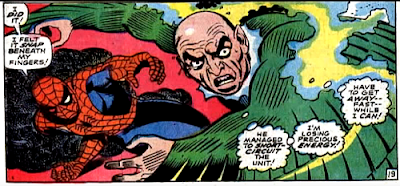 Amazing Spider-Man #64, john romita, his power pack crushed by spider-man, the vulture realises his plan is in tatters