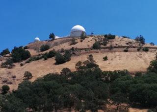 Lick Observatory atop Mt. Hamilton, San Jose, California