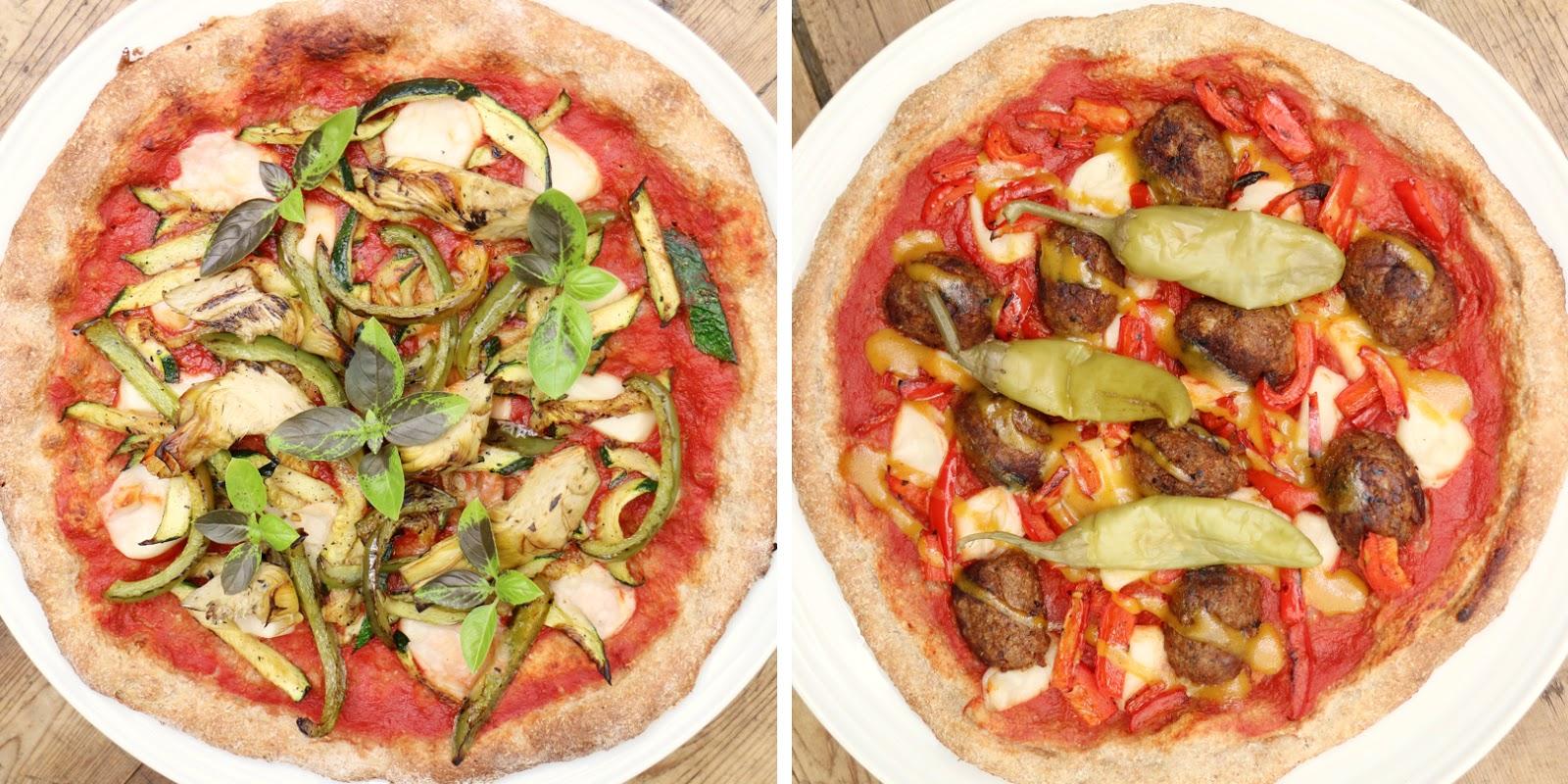 Mozzarisella Wholemeal Vegan Pizzas