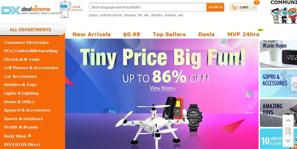 LIST of The Best Websites: Top Best Online Shopping Sites