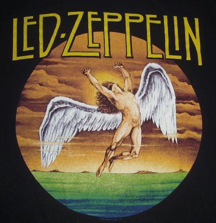 Led zepplin naked angel