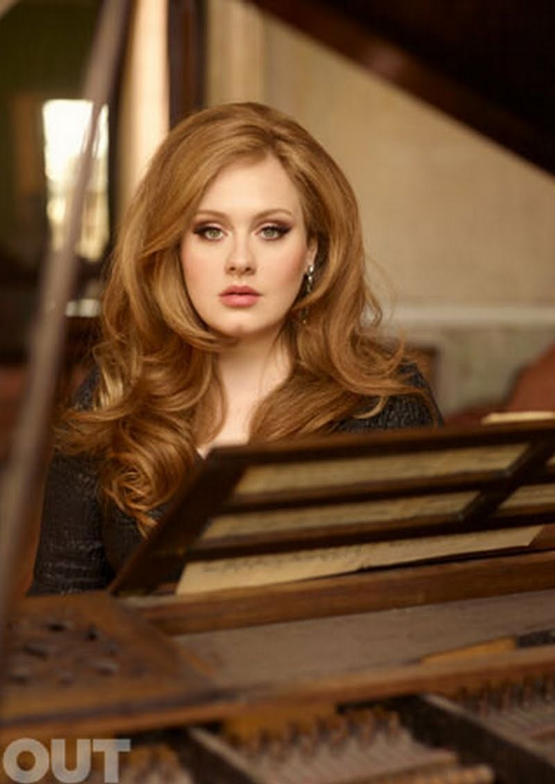 ALL IS RELATIVE: Adele Out Magazine June/July 2011