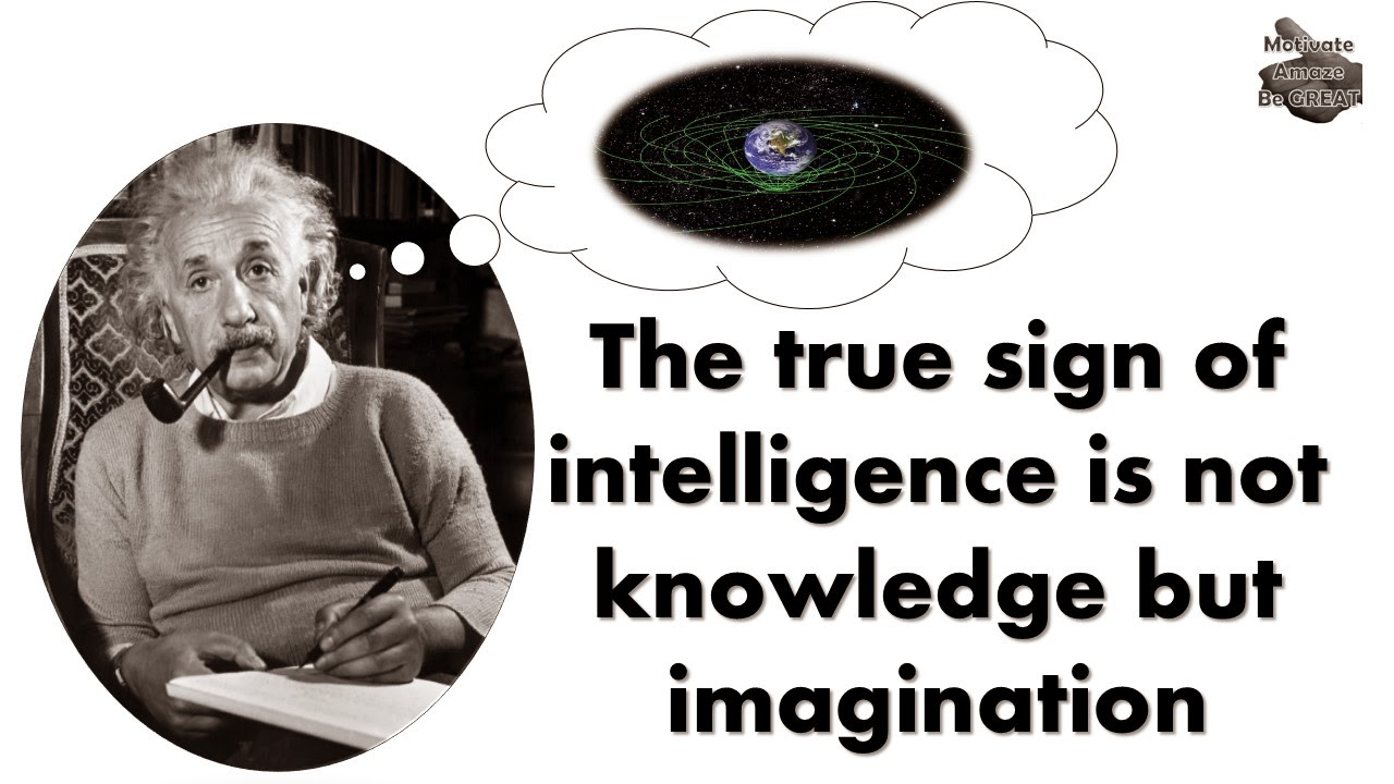 One of the featured quotes in our Albert Einstein Picture Quotes About Life article. This one is about imagination.
