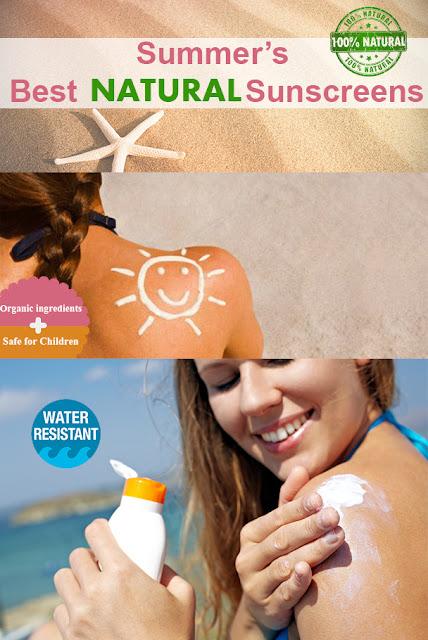 Summer's Best Natural Sunscreens