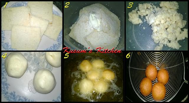 Bread Gulabjamun recipe