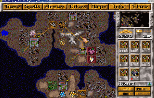 Master of Magic - Troll Army Screenshot
