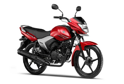 Yamaha Saluto 125 side view HD Photo