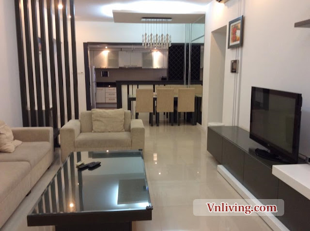 Saigon Pearl Apartment for rent 3 bedrooms fully furniture