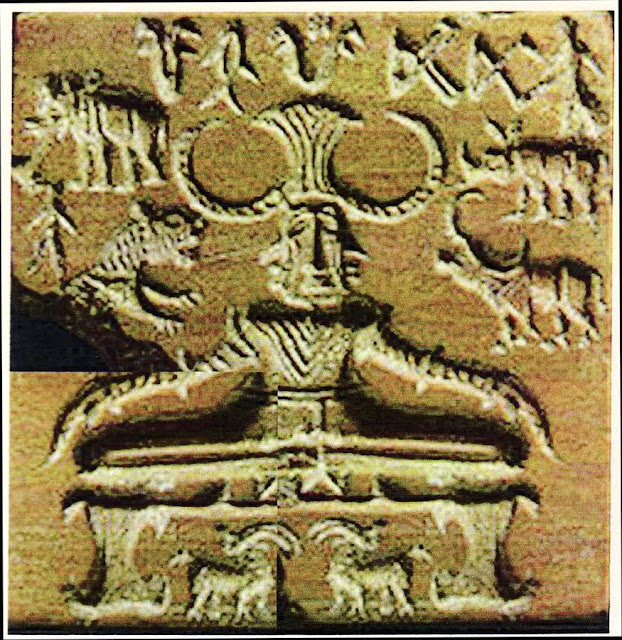 Image result for pashupati seal indus script