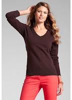 Pulover din material fin tricotat (bonprix)