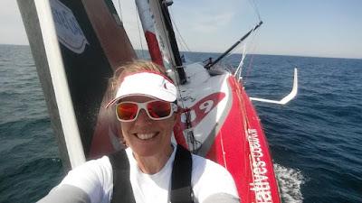 Samantha Davies, marraine du Tour de Belle Ile 2018