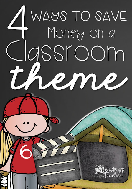 4 Ways to Save Money on a Classroom Theme