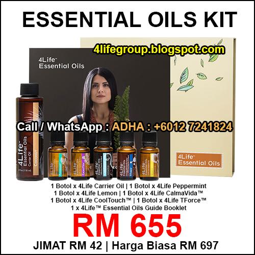 foto 4Life Essential Oils Kit