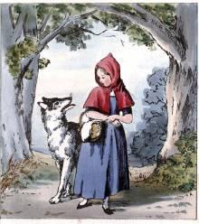 قصص اطفال قبل النوم الفتاة ذات القبعة الحمراء والذئب