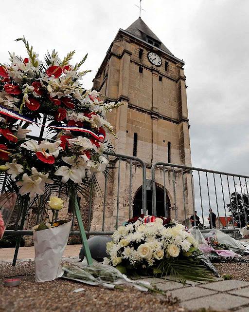 Saint-Etienne-du-Rouvray, o Pe. Hamel não está mais e o Papa parece não lembrar que muitos outros são visados pelo Islã.