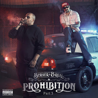 Berner & B-Real - Prohibition Pt. 3 (2016) - Album Download, Itunes Cover, Official Cover, Album CD Cover Art, Tracklist