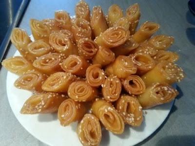 حلويات رمضان تحضير حلوة لسان الطير